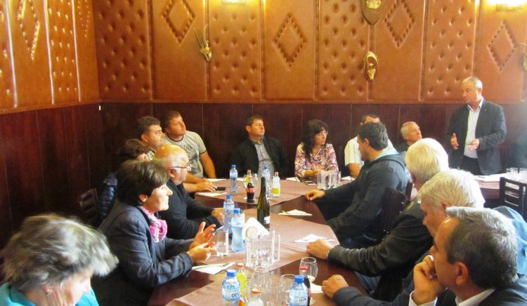 Минчо Казанджиев се ангажира със създаване на консултативен съвет по проблемите на селското стопанство